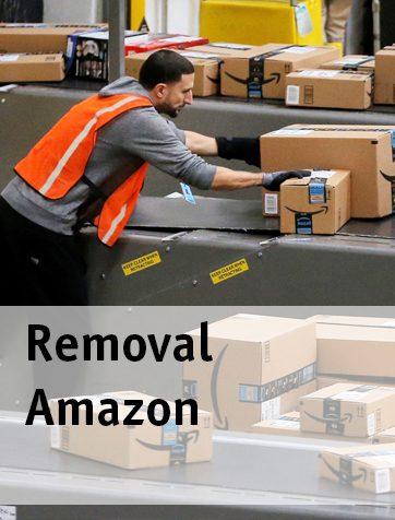 Как удалить товар из фулфилмент центра Амазон?